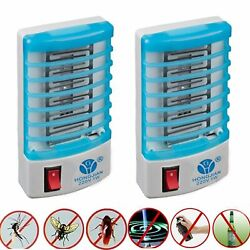 2Packs Insect Mosquito Killer Trap Bug Flying Pests Gnat Zapper Night Lamp ON $8.99