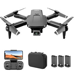 S68 Drone Camera 4K Wifi FPV Quadcopter Gesture Photo Video Toy 3Batteries C5K7 $36.08