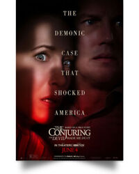 The Conjuring The Devil Made Me Do It Wall Art Print POSTER 24x36 $19.99