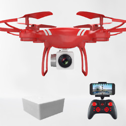 Cooling FPV Wi Fi RC Drone HD Camera 4K 1080P Toy Quadcopter Altitude $35.54