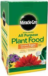 Miracle Grow Water Soluble 3 lb. All Purpose Plant Food All Season Plant Food $14.50