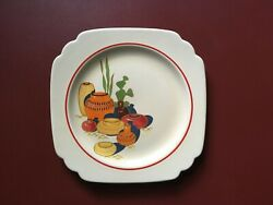 Vintage Homer Laughlin Riviera Mexicana 9quot; Dinner Plate $15.00