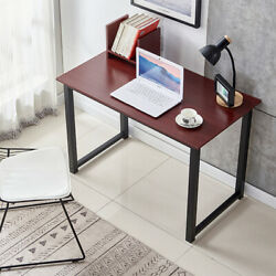 Retro 106cm Computer Desk PC Laptop Writing Study Gaming Workstation Home Office $37.99