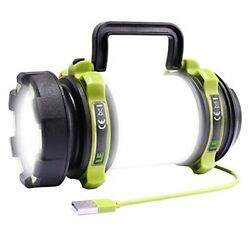LE LED Camping Lantern Rechargeable Brightest Flashlight with 500LM 4 Light Mo $53.70