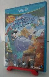 *BRAND NEW* Phineas and Ferb: Quest for Cool Stuff Nintendo Wii U. Sealed RARE $129.99