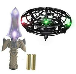 Hand Operated Mini Drones for Kids and Adults with Sword Remote Black $18.82