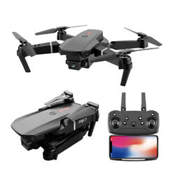 RC Quadcopter Foldable Professional E525 PRO Mini Drone Helicopter Toy 4K HD $35.69