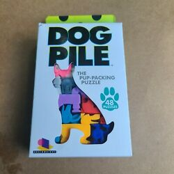 Dog Pile The Pup Packing Puzzle 48 Pieces Puzzle Pack $11.50