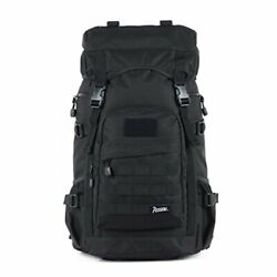 Black Rogisi Backpack Mens Hiking For Climbing 50L Large Capacity Zack $146.99