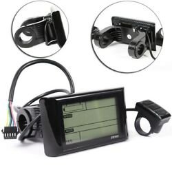Distances LCD Display E bike Equipment For Electric Bicycle Meter Pats Useful $45.65