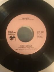 """Boogie Funk Carmen """"Time to Move"""" NM $30.00"""