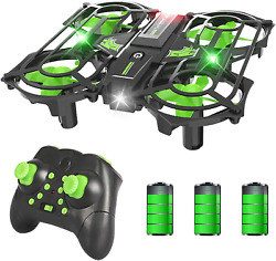 RC Small Quadcopter Drone Indoor Helicopters Plane with Auto Hovering 3D Flip $40.83