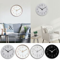 12quot; Silent amp; Large Wall Clocks For Living Room Office Home Decor Modern Style $11.79
