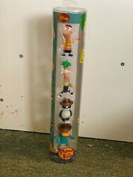 Phineas And Ferb Collectors Pack 4 Figures toys r us agent p peter panda scarce $49.99