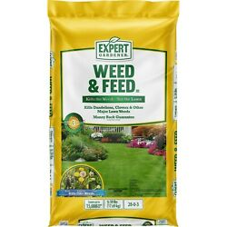 Weed amp; Feed Lawn Fertilizer amp; Weed Control Covers 15000 sq. ft. FREESHIPPING $38.99