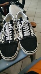 Vans Off The Wall Black amp; White Checkered Size 9.5 Worn EXCELLENT Condition $40.00