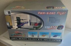 Walkera Helicopter R C 5 5 RTF Palm Sized Flyer Yellow With Box and Manual $79.00