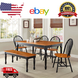 LUX Dining Table Wood Kitchen Office Desk Modern Room Home Furniture Decor NEW $219.99