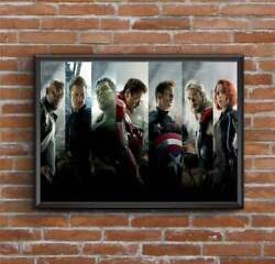 The Avengers Movie Poster Wall Painting Home Decor No Frame $16.99