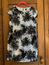 Talbots Dress Womens 12 large Sleeveless Casual Career excellent condition $24.00