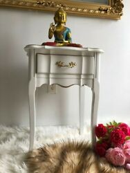 Vintage NightstandRefurbished in Shabby Chic Style Solid Wood Excellent Cond $299.00