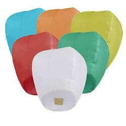 Chinese Lanterns 6 Pack Paper Lanterns for Valentine#x27;s Day Gifts Weddings $14.21