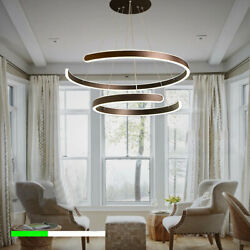 Modern LED Acrylic Ceiling Light Chandelier Room Pendant Dimmable w Remote $114.00