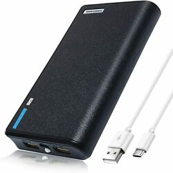 NEW20000mAh Dual USB Portable Power Bank External Battery Charger For Cell Phone $9.99