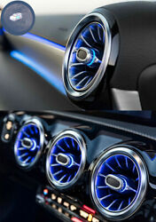 12 Color LED Car Air Vent Turbine Atmosphere Lamp For Mercedes BenzB Class W246 $299.99