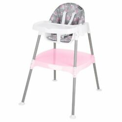 Evenflo 4 in 1 Eat amp; Grow Convertible High Chair Poppy Floral color for baby $59.00
