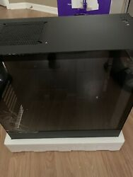 NZXT H510 Compact ATX Mid Tower Case w Tempered Glass CA H510B B1 Matte Black $60.00