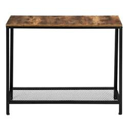2 Tier Console Table Hallway Table Entryway Table for Living Room Bedroom Decor $38.45