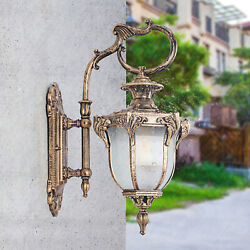 1 PCS Antique Rustic Lantern Light In Outdoor Wall Fixture Sconce Porch Lamp $51.30