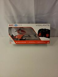 Sky Rover Vigilante Helicopter Remote Control Vehicle Green In Box May Be New $17.99