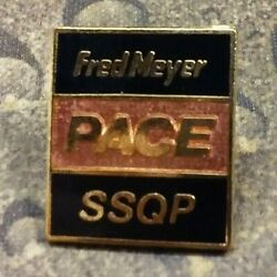 Fred Meyer PACE SSQP Employee uniform pin badge $12.25