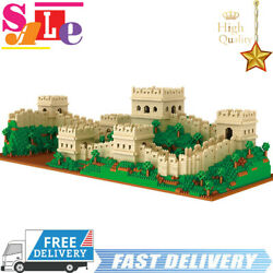 MOC Great Wall Building Blocks Toys 4114Pcs World Architecture Puzzle Creator $84.99