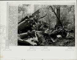 1965 Press Photo Site of deadly helicopter crash at Fort Benning Georgia $17.88