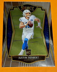 Justin Herbert Rookie Card BLUE CHROME RC Chargers Jersey #10 TRUE RC $29.85