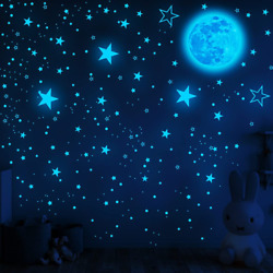 1049Pcs Glow in The Dark Stars and Moon for Ceiling Wall Bedroom Chirldren#x27;s Ro $20.99