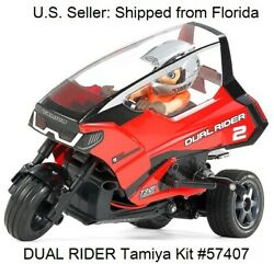 DUAL RIDER TRIKE T3 01 Motorcycle Chassis 1 8 Scale Hobby RC Kit Tamiya 57407 $146.00