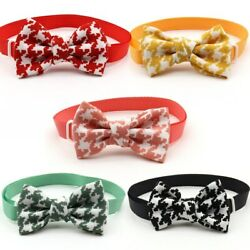 50Pcs Cute Adjustable Bowtie Dogs Pet Supplies Grooming Dogs Accessories $46.20