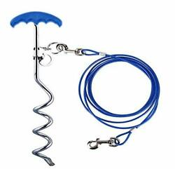 Relux Pet Tie Out Cable Dog Stake for YardDog Leash Stake with Solid Dog Chai... $25.64