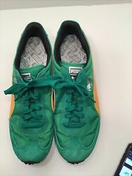 PUMA sneakers Whirlwind Classic Mens 13 GREEN Amazon Spectra Yellow NEW shoes $129.99