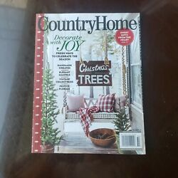 Country Home Magazine Winter 2020 Issue Farmhouse Decorating Ideas $7.40