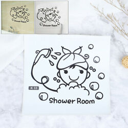 Wall art stickers for bathroom toilet Home decor quality vinyl decal quotes☆ C $2.19