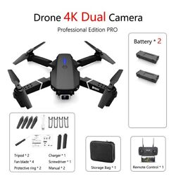 Mini Drone GPS WIFI Professional HD RC Practice Done Quadcopter with 4K Camera $31.96