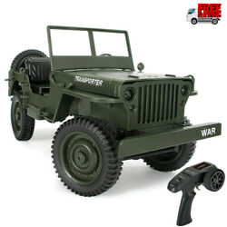 JJRC Q65 1 10 2.4G 4WD 4CH Remote Control RC Off Road Car Military Jeep RTR Toy $55.20