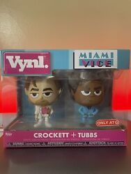 CROCKETT TUBBS Miami Vice Funko Vynl. Figures Target Exclusive 2 Pack NEW $23.99