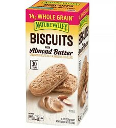Nature Valley Biscuit Sandwich with Almond Butter 30 ct. $16.12