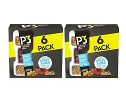 P3 Portable Protein Snack Pack 1.8 oz. 6 pk. 2 Ct $21.97